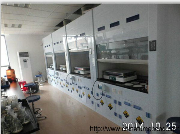 China Cheap Glass Reinforced Plastic Fume Hood In Laboratory Ventilation System