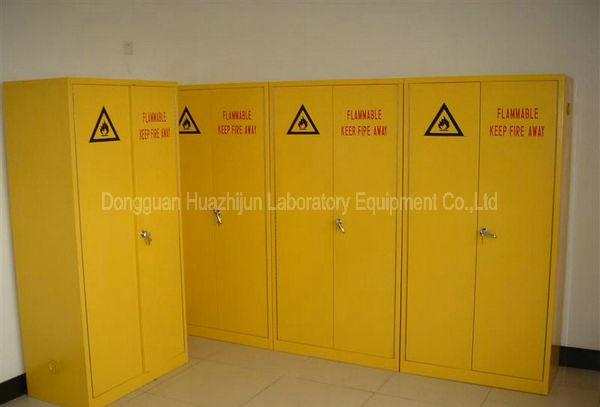 Acid Resistant Storage Cabinet With Double Doors For Laboratory Safety Furniture
