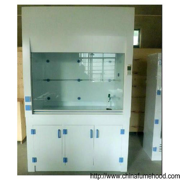 Transparent Window PP Fume Hood , PVC Ducted Fume Hood For Chemical Laboratory