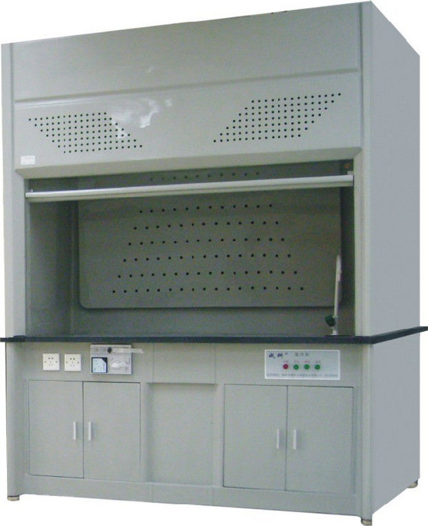 FRP Acid Lab Fume Hood Ventilation System 6mm Tempered Glass Window