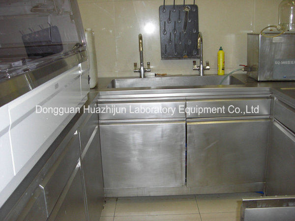 Custom Made Science Lab Cabinets Full Stainless Steel Structure Equipment