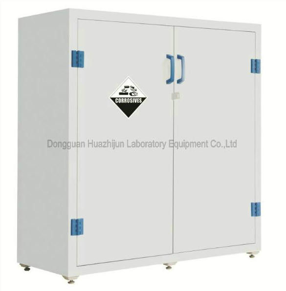 Acid Base Laboratory Storage Cabinets Customized Size Adjustable Shelf
