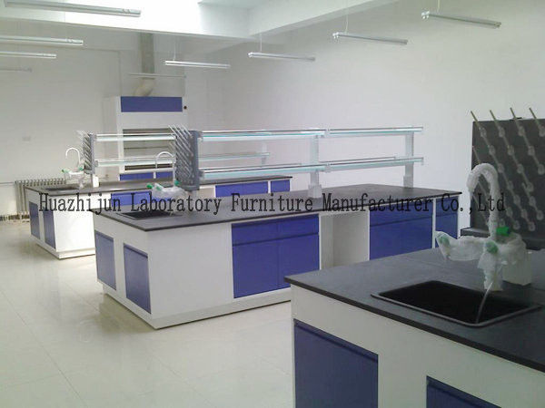 Educational Steel Lab Furniture , Electronics Science Lab Furniture For Schools