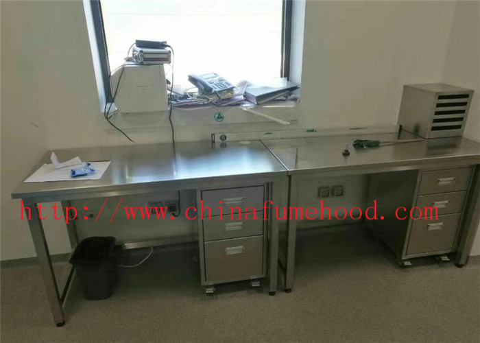Customized Size Science lab Furniture Designing  And Planning Stainless Steel Lab Furniture   For Distributors