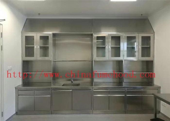 3000*750*900 MM Original Color Lab Tables Work Benches Stainless Steel Lab Furniture for Hospital and College