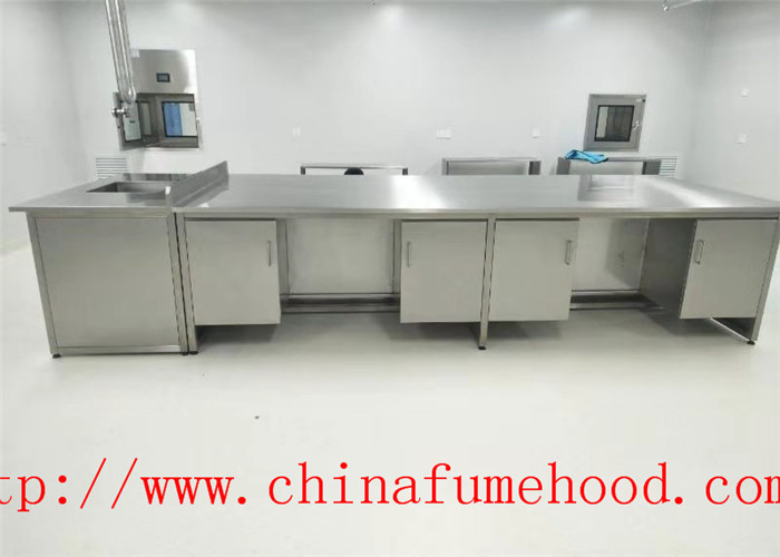 Manufacture Science Lab Furniture Stainless Steel Lab Furniture for Clean Room and Hospital Lab