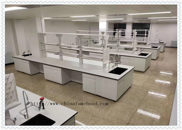 Resistance To Chemical Steel Lab Furniture Science Lab Cabinets For Hospital