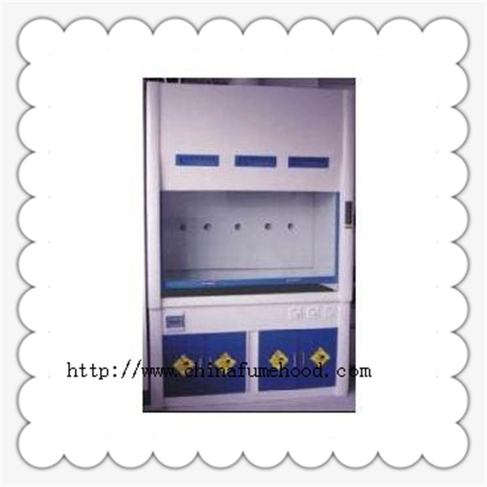 FRP Fume Hood FRP Fume Cupboard Resistance to Acid Akali for Chemical Laboratory